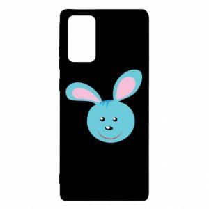 Etui na Samsung Note 20 Morda niebieskiego króliczka