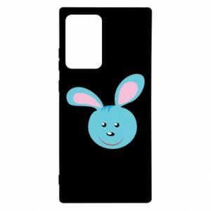 Etui na Samsung Note 20 Ultra Morda niebieskiego króliczka