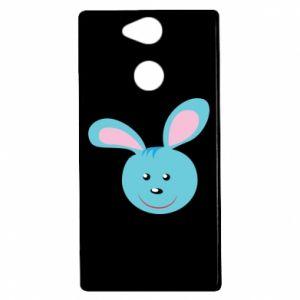 Etui na Sony Xperia XA2 Morda niebieskiego króliczka