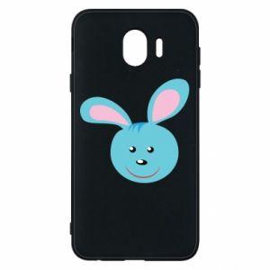 Etui na Samsung J4 Morda niebieskiego króliczka