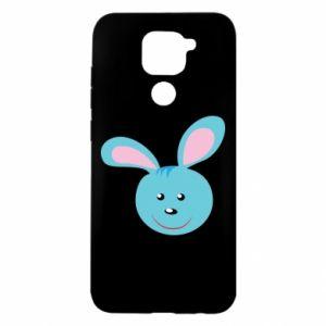 Xiaomi Redmi Note 9 / Redmi 10X case % print% Muzzle of blue bunny