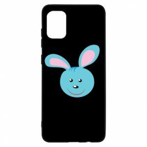 Etui na Samsung A31 Morda niebieskiego króliczka