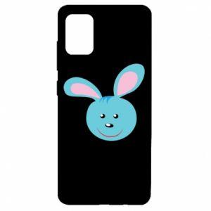 Etui na Samsung A51 Morda niebieskiego króliczka