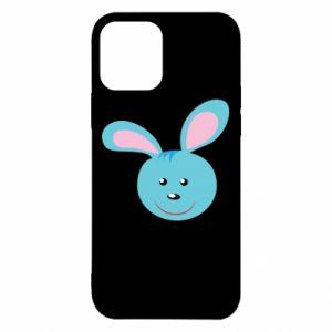 Etui na iPhone 12/12 Pro Morda niebieskiego króliczka