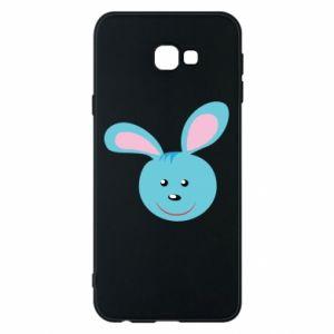Etui na Samsung J4 Plus 2018 Morda niebieskiego króliczka