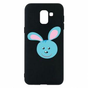 Etui na Samsung J6 Morda niebieskiego króliczka