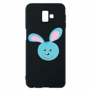 Etui na Samsung J6 Plus 2018 Morda niebieskiego króliczka