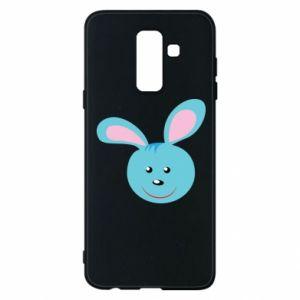 Etui na Samsung A6+ 2018 Morda niebieskiego króliczka