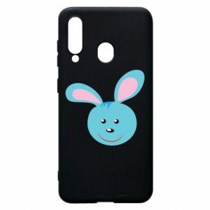 Etui na Samsung A60 Morda niebieskiego króliczka