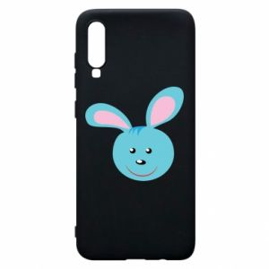 Etui na Samsung A70 Morda niebieskiego króliczka