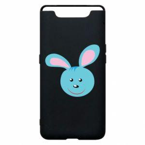 Etui na Samsung A80 Morda niebieskiego króliczka