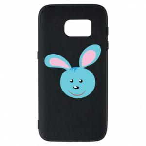 Etui na Samsung S7 Morda niebieskiego króliczka