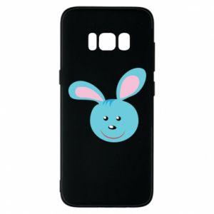 Etui na Samsung S8 Morda niebieskiego króliczka
