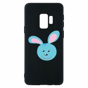 Etui na Samsung S9 Morda niebieskiego króliczka