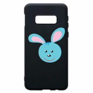 Etui na Samsung S10e Morda niebieskiego króliczka