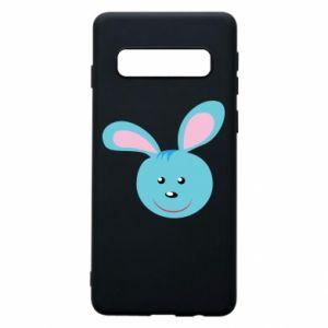 Etui na Samsung S10 Morda niebieskiego króliczka