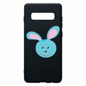Etui na Samsung S10+ Morda niebieskiego króliczka