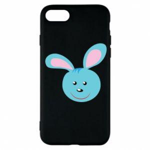 Etui na iPhone 7 Morda niebieskiego króliczka