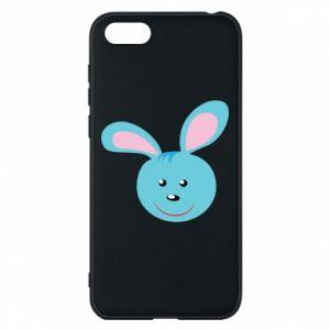 Etui na Huawei Y5 2018 Morda niebieskiego króliczka