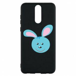 Etui na Huawei Mate 10 Lite Morda niebieskiego króliczka