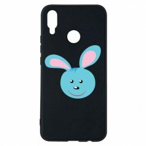 Etui na Huawei P Smart Plus Morda niebieskiego króliczka