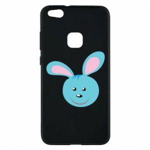 Etui na Huawei P10 Lite Morda niebieskiego króliczka