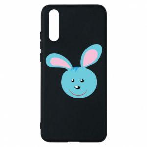 Etui na Huawei P20 Morda niebieskiego króliczka