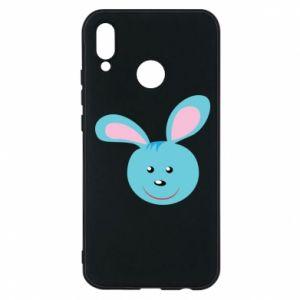 Etui na Huawei P20 Lite Morda niebieskiego króliczka