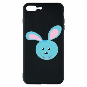Etui do iPhone 7 Plus Morda niebieskiego króliczka