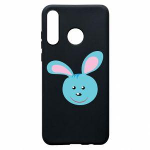 Etui na Huawei P30 Lite Morda niebieskiego króliczka