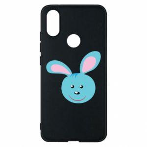 Etui na Xiaomi Mi A2 Morda niebieskiego króliczka