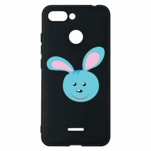 Etui na Xiaomi Redmi 6 Morda niebieskiego króliczka