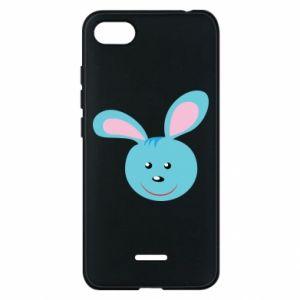 Etui na Xiaomi Redmi 6A Morda niebieskiego króliczka