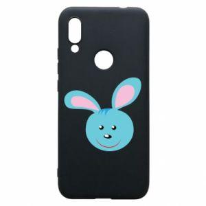 Etui na Xiaomi Redmi 7 Morda niebieskiego króliczka