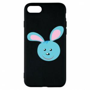 Etui na iPhone 8 Morda niebieskiego króliczka
