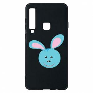 Etui na Samsung A9 2018 Morda niebieskiego króliczka
