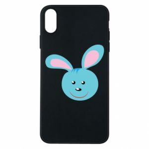 Etui na iPhone Xs Max Morda niebieskiego króliczka