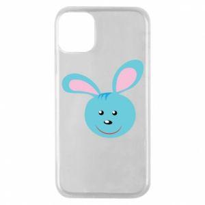 Etui na iPhone 11 Pro Morda niebieskiego króliczka