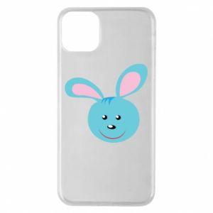 Etui na iPhone 11 Pro Max Morda niebieskiego króliczka
