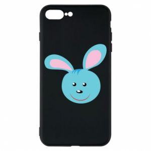 Etui na iPhone 8 Plus Morda niebieskiego króliczka
