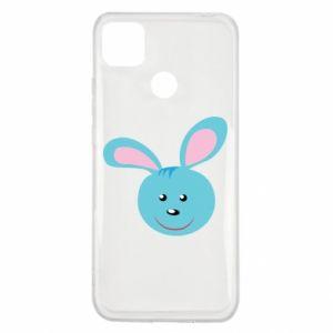 Etui na Xiaomi Redmi 9c Morda niebieskiego króliczka