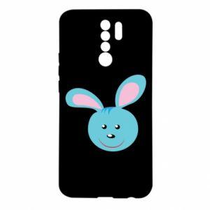 Etui na Xiaomi Redmi 9 Morda niebieskiego króliczka
