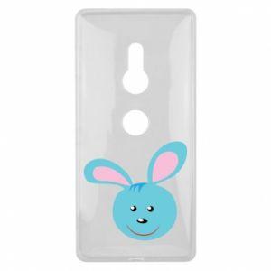 Sony Xperia XZ2 Case Muzzle of blue bunny