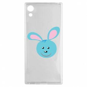Etui na Sony Xperia XA1 Morda niebieskiego króliczka