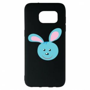 Etui na Samsung S7 EDGE Morda niebieskiego króliczka