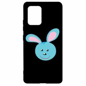 Etui na Samsung S10 Lite Morda niebieskiego króliczka