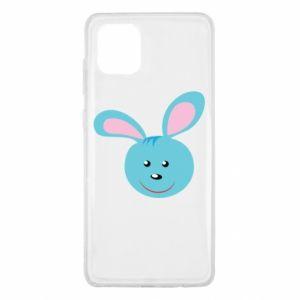Etui na Samsung Note 10 Lite Morda niebieskiego króliczka