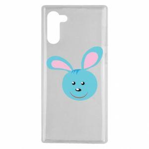 Etui na Samsung Note 10 Morda niebieskiego króliczka