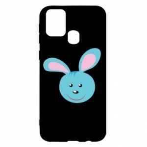 Etui na Samsung M31 Morda niebieskiego króliczka