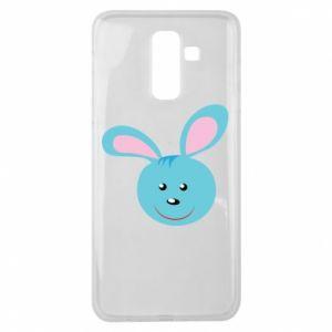 Etui na Samsung J8 2018 Morda niebieskiego króliczka